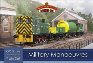 Bachmann 30-130 Military Manoeuvres train set